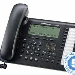 Системные телефоны - Телефон IP Panasonic KX-NT546RU-B черный, 0