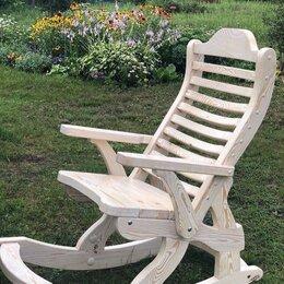 Кресла и стулья - Кресло-качалка из дерева, 0