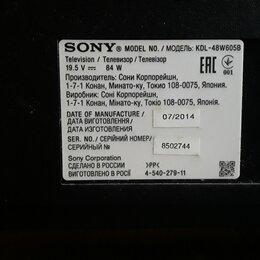 Телевизоры - Телевизор sony kdl-48w605B, 0
