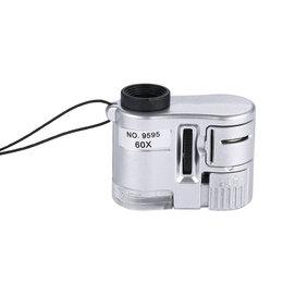 Микроскопы - Мини микроскоп со светодиодной подсветкой, 0