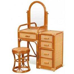 Плетеная мебель - N&K Туалетный столик 10/05 К, 0