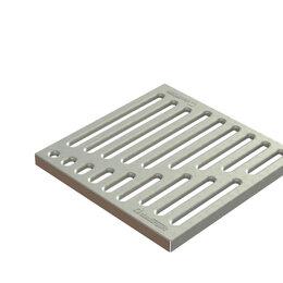 """Решетки - Standartpark Решетка Basic РВ-28.28 штампованная стальная оцинкованная """"верши..., 0"""