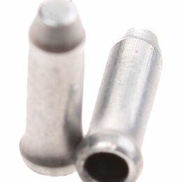 Защита и экипировка - Велосипедный наконечник для троса ELVEDES, Ø1,6мм, алюминий, стальной, ELV1172, 0