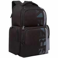 Рюкзаки - Рюкзак Grizzly 28*41*18см, 1отд, 2карм. черн., 0