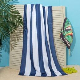 Туалетная бумага и полотенца - Полотенце пляжное в сумке Этель 'Тукан', 70*140 см, микрофибра, 100 п/э, 0
