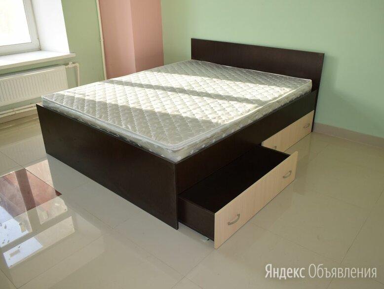 Кровать с матрасом 140х200 по цене 16500₽ - Кровати, фото 0