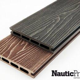 Массивная доска - Террасная доска из ДПК NauticPrime (Light) Esthetic Wood, 0