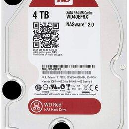 Жёсткие диски и SSD - Жесткий диск Western Digital WD Red 4 TB WD40EFRX, 0