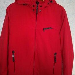 Куртки - Куртка муж. демисезонная б/у р.50, 0