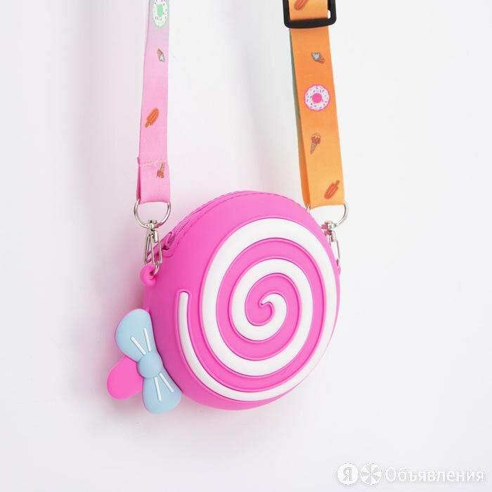 Сумка детская, отдел на молнии, регулируемый ремень, цвет малиновый, «Сладость» по цене 935₽ - Дорожные и спортивные сумки, фото 0