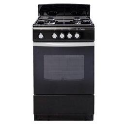 Плиты и варочные панели - Газовая плита DeLuxe 5040.38г черная, 0