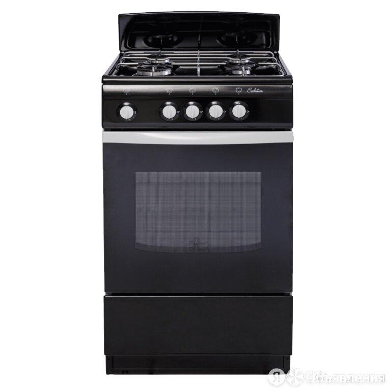 Газовая плита DeLuxe 5040.38г черная по цене 10500₽ - Плиты и варочные панели, фото 0