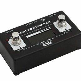 Гитарное усиление - AMT Electronics FS-2-M MIDI-футсвитч для комбо-усилителей и предусилителей, 0