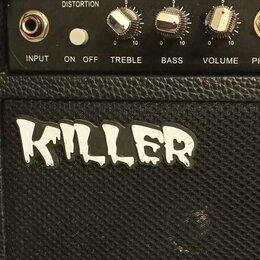 Гитарное усиление - 🔈Гитарный Комби Killer G-10. Доставка, 0