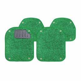 Подставки и держатели - Вкладыши ковролиновыеи AUTOPROFI, для ковриков TER-500i, компл. из 4 предм., зел, 0