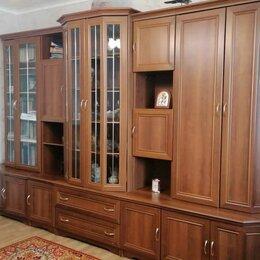 Шкафы, стенки, гарнитуры - Стенка 5-секционная с тумбой под телевизор, 0