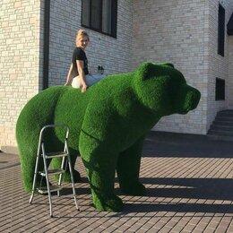 Садовые фигуры и цветочницы - Топиарная фигура Медведь, 0
