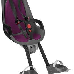 Автокресла - Кресло детское вело HAMAX Observer сер+фиол вклад, 0