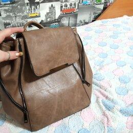 Рюкзаки - Кожаный рюкзак , 0