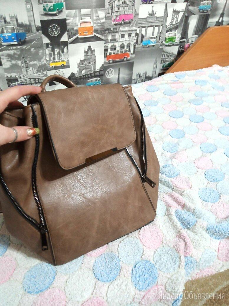 Кожаный рюкзак  по цене 1100₽ - Рюкзаки, фото 0