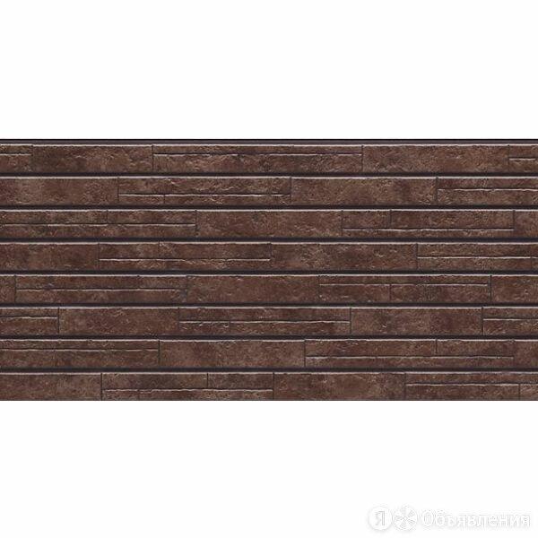 Фиброцементная панель NICHIHA камень темно-коричневый WFX442 455*1010*14 мм по цене 1550₽ - Наборы и аксессуары для каминов и печей, фото 0
