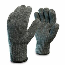 Средства индивидуальной защиты - Перчатки трикотажные полушерстяные Аляска двойные серые, 0