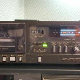 Музыкальные центры,  магнитофоны, магнитолы - Кассетная дека Technics RS-M260. трехголовая, 0