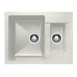 Кухонные мойки - мойка практик (g-017) жасмин 640*492 с сифоном, 0