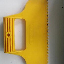 Шпатели - Шпатель малярный пластмассовый зубчатый, 0