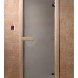 Входные двери - Дверь DoorWood Сатин 190х70, 6мм, 2 петли (коробка хвоя), 0