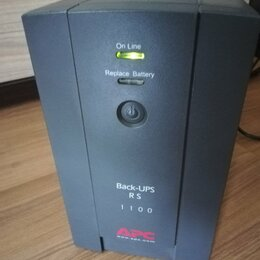 Источники бесперебойного питания, сетевые фильтры - Ибп APC Back-UPS RS 1100, 0