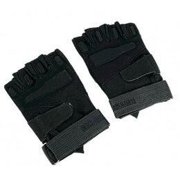 Перчатки и варежки - ПЕРЧАТКИ ТАКТИЧЕСКИЕ BLACKHAWK С ОТКРЫТЫМИ ПАЛЬЦАМИ (ЧЕРНЫЕ), 0