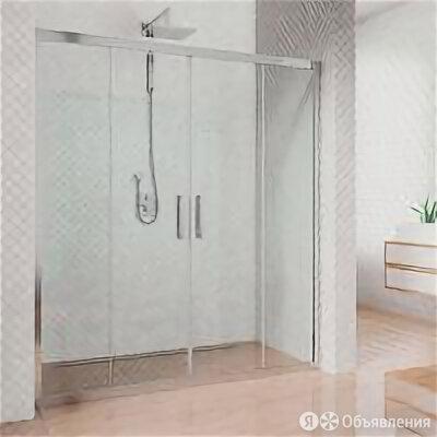 Kubele Душевая дверь в нишу Kubele DE019D4-CLN-CH 165 см, профиль хром по цене 33460₽ - Души и душевые кабины, фото 0