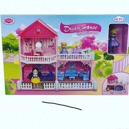 Игрушечная мебель и бытовая техника - Домик кукольный/Большой домик Игрушка для девочек, 0