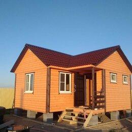 Готовые строения - Каркасно-щитовой дом 6*5,5 м, 0