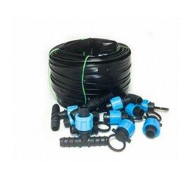 Капельный полив - Система капельного автоматического полива - Автополив-75, 75 метра на 150 м г..., 0