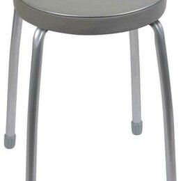 Стулья, табуретки - Табурет Nika Фабрик 2 (ТФ02), металл/искусственная кожа, цвет: серый, 0