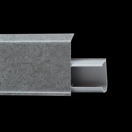 Плинтусы, пороги и комплектующие - WINART Плинтус WINART QUADRO 55 570 Дарк, 0