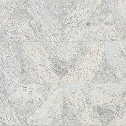 Пробковый пол - Dekwall настенные пробковые покрытия Roots FLORES WHITE RY07001, 0