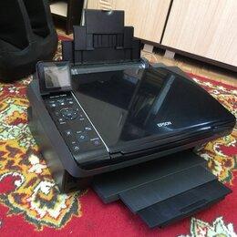 Принтеры, сканеры и МФУ - МФУ Epson TX410 для дома, учёбы и работы заправлен, 0