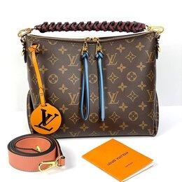 Сумки - Женская сумка Louis Vuitton Beaubourg Hobo премиум кожа новая на плечо, 0