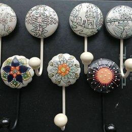 Держатели и крючки - Вешалка-крючок (керамика), 0
