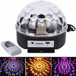 Ночники и декоративные светильники - Светодиодный диско-шар Magic Ball LED Bluetooth, 0