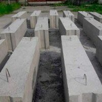 Железобетонные изделия - Блоки фундаментные ФБС, 0