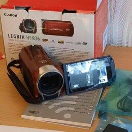 Видеокамеры - Видеокамера Canon LEGRIA HF R36 б / у в отличном почти новом состоянии, 0