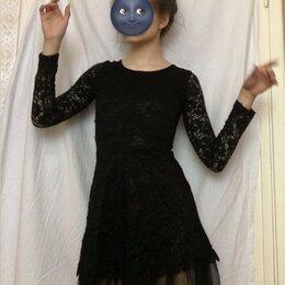 Платья и сарафаны - Коктейльное чёрное платье, 0