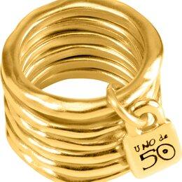 Свадебные украшения - Наборное кольцо UNOde50 ANI0057ORO000_17-5, 0