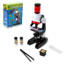 Детские микроскопы и телескопы - Микроскоп детский, цвет чёрный, 0