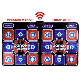 Коврики - Танцевально-игровой коврик на двоих б/проводной 32бит русское меню/ТV, PC/, 0