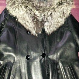 Пальто - Пальто кожаное., 0
